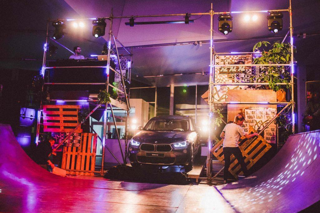 setting lanceringsevent nieuwe BMW