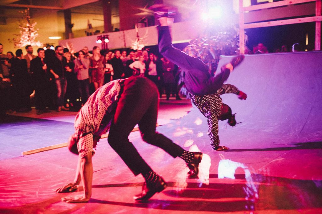 breakdancers lanceringsevent
