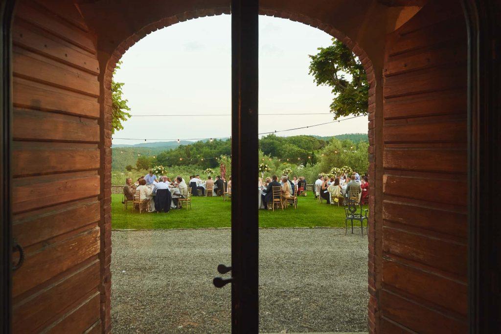 diner in Toscany