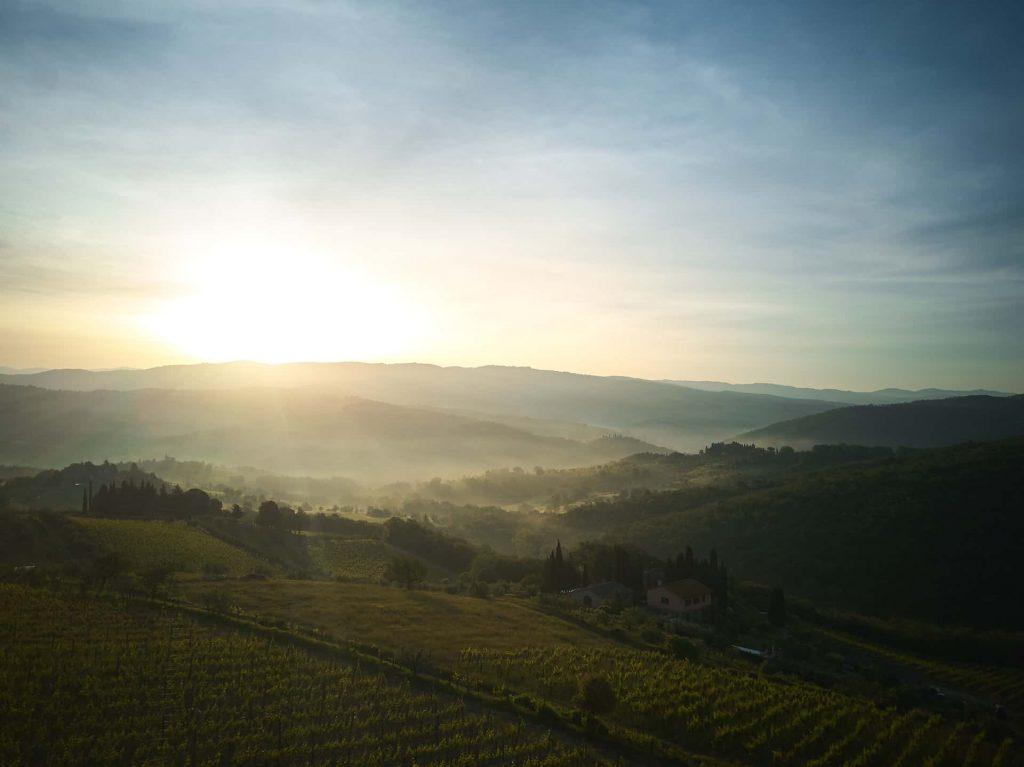 uitzicht op incentive in Toscany