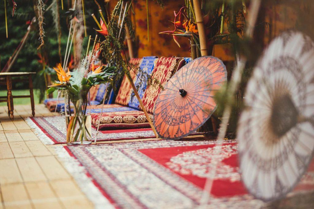 exotische decoratie verjaardag en incentive