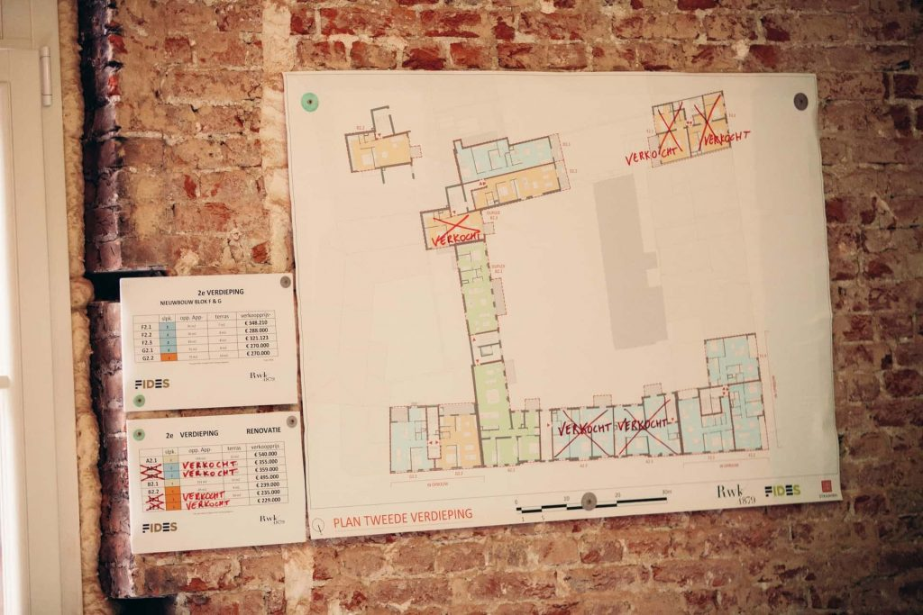 grondplan rijkswachtkazerne Antwerpen