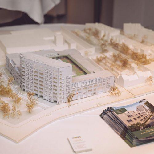 maquette voorstelling vastgoedproject